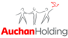 Imagini pentru logo Auchan Holdings