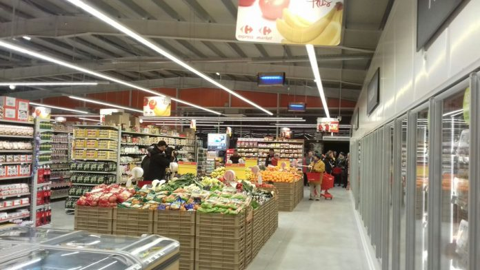 Supermarket Carrefour, Siria Arad